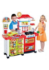 CT Toys Multimedia Kitchen Fast Food Center Playset