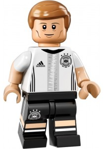 LEGO GERMAN DFB MINIFIGURE-10 Toni Kroos