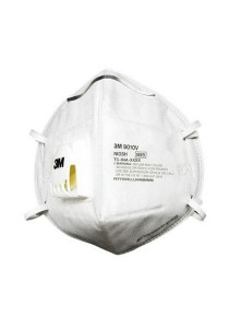 Premium 3M N95 Disposable Respirators Mask With Cool Flow Valve