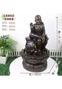 Baba Water Fountain Garden Decoration Gift LX 9032