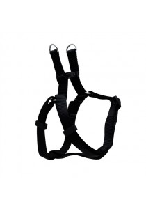 Dogit Style Adjustable Step In Dog Harness - Black - Small
