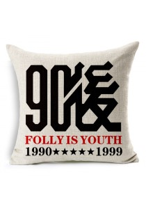 INFINITE Idea Cushion Cover- Folly is Youth