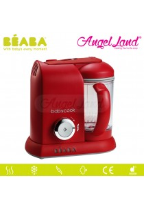 BEABA BABY COOK SOLO STEAM & BLEND-RED