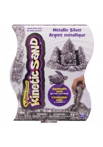 Spinmaster Kinetic Sand Metallic Silver