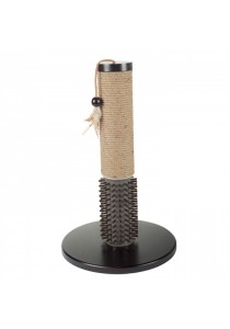 Mochachino Scratching Post with Rubber Bristles