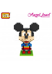 Loz 9419 Mickey Mouse Superman 240pcs