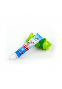 Self Brushing Frog with Peanut Butter Toothpaste