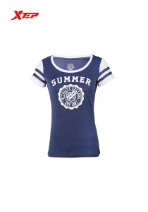XTEP Women's Casual Tee Summer - 985228011084 - Blue