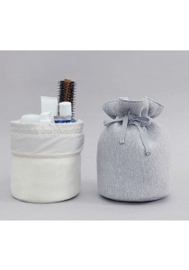 Multi-function Round Bag Travel Toiletry Cosmetic Storage Pouch B11701
