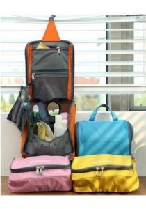 Multifunctional Cosmetic Bag Travel Kit Organizer Bathing Items Storage B10002