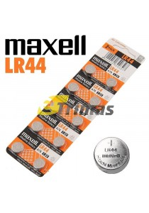 Genuine Maxell LR44 A76 AG13 L1154 G13 V13GA Micro Alkaline Coin Button Cell Battery (10PCS)