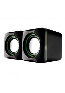 AudioBox U-Cube USB Powered 2.0 Speakers-Blue