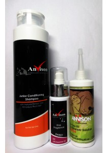 Anvison Super Saver 02 (Junior Conditioning Shampoo) - Junior Conditioning Shampoo 400ml, Sweet Fine Fragrance 40ml and Tea Tree Oil Ear Cleanser 116ml