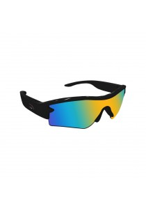 G300S Bluetooth UV- Protective Glasses with Earphone and MP3 Player  black