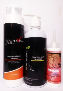 Anvison Super Saver 09 (Junior Conditioning Shampoo) - Junior Conditioning Shampoo 400ml, Eco-Anvison Smooth & Silky Shampoo 400ml and 3 in 1 Essencel Ear Cleanser 110ml
