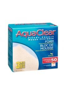 AquaClear 50 Foam Filter Insert - 3 pack