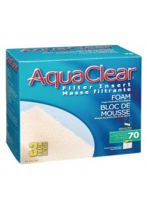 AquaClear 70 Foam Filter Insert - 3 pack