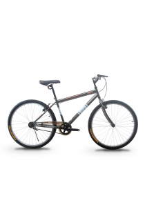 """Asogo A1626574-BC 26"""" Mountain Bike MTB with 1 Speed (Matte Brown)"""