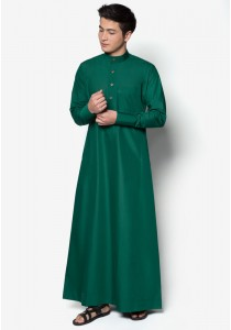 AMAR AMRAN Jubah A Slim Fit (Emerald Green)
