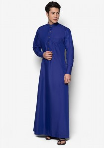 AMAR AMRAN Jubah A Slim Fit (Royal Blue)