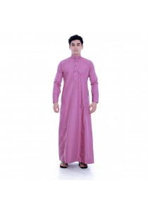 AMAR AMRAN Jubah A Slim Fit (Dusty Pink)