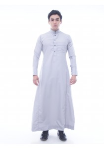AMAR AMRAN Jubah A Slim Fit (Platinum Grey)
