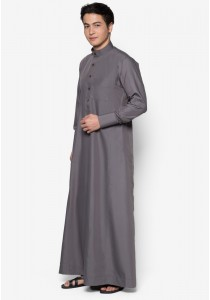 AMAR AMRAN Jubah A Slim Fit (Dark Grey)