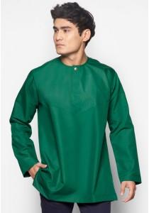 AMAR AMRAN Kurta Al-Amin (Emerald Green)