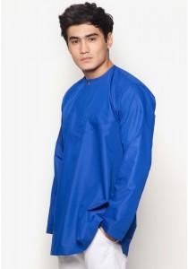 AMAR AMRAN Kurta Al-Amin (Royal Blue)