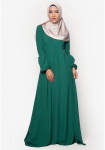 AMAR AMRAN Jubah Qhadeeja (Emerald Green)
