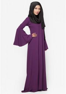 AMAR AMRAN Jubah Rania (Dark Purple)