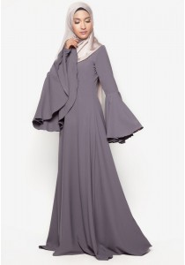 AMAR AMRAN Jubah Rania (Dark Grey)