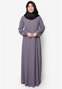 AMAR AMRAN Jubah Qhaleeda (Dark Grey)