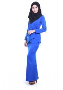 AMAR AMRAN Kurung Moden Qaisara (Royal Blue)