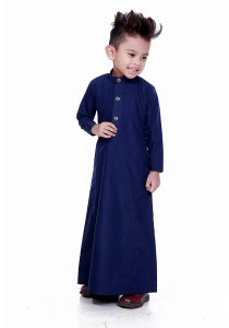 AMAR AMRAN Jubah Aulad For Kids (Navy Blue)