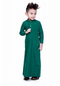 AMAR AMRAN Jubah Aulad For Kids (Emerald Green)