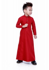 AMAR AMRAN Jubah Aulad For Kids (Maroon)