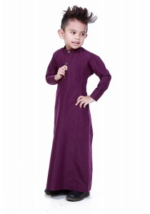 AMAR AMRAN Jubah Aulad For Kids (Mangosteen)