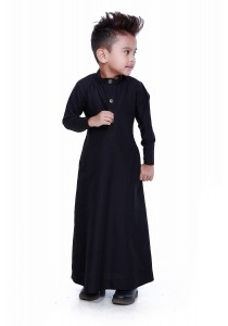 AMAR AMRAN Jubah Aulad For Kids (Black)