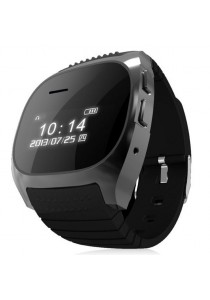 R WATCH Bluetooth Watch For iPhone and Android Phone Full Black