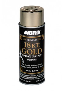 Abro Premium 18 Kt. Gold Spray Paint