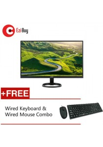 "Acer R241Y 23.8"" IPS Ultra Thin LED Monitor *FREE Keyboard & Mouse"