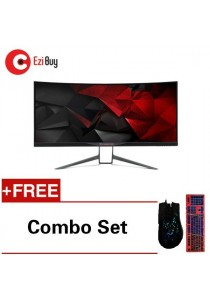 Acer Predator X34A Curve Gaming Monitor- 34inch QHD *Free Combo Set