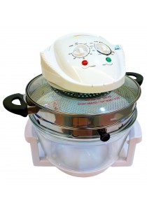 Flavorwave Halogen Oven 12L with Air Fryer Extension Ring