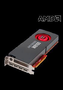 AMD FirePro W8100 Professional Graphics Card (8GB GDDR5, PCI-E 3.0 x16, 512-bit, 4 discrete Display Port 1.2)
