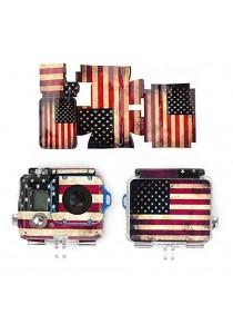 American Flag Case Sticker For Hero 3