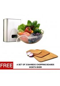Okamizu Food Detoxifier * FREE 1SET OF 3 BAMBOO CHOPPING BOARDS WORTH RM99!