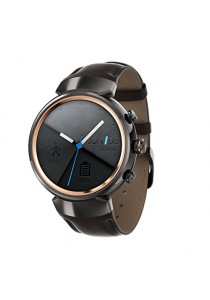 ASUS ZenWatch 3 Smart Watch with Dark Brown Gun Leather Strap (WI503Q-1LDBR0011)