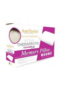 Ann Taylor Aroma Therapeutic Lavender Memory Pillow
