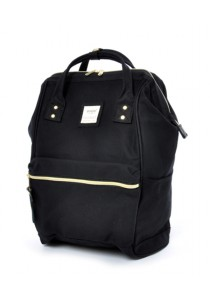 Anello Cotton Backpack (Black)